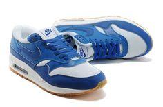Mens Nike Air Max 1 Blue White