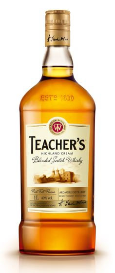 Packaging of the World: Creative Package Design Archive and Gallery: Teacher´s Scotch Whisky