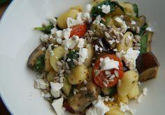 Recept: Gnocchi met Italiaanse groenten en feta