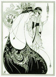 "Aubrey Vincent Beardsley, illustrations for the Oscar Wilde ""Salome"""
