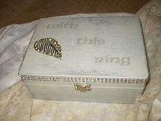 Wedding  Ring Bearer Box by HighlandCottageArts on Etsy, $35.00