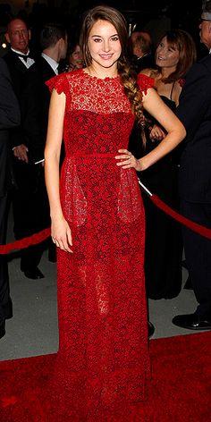 Shailene Woodley in Valentino