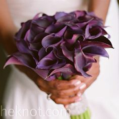 My wedding bouquet. Simple & elegant!