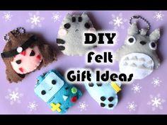 DIY CHRISTMAS FELT GIFT IDEAS ❤