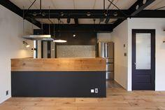 Home Diy Bar Projects 61 Best Ideas Interior Stairs, Interior Exterior, Interior Design, Kitchen Counter Diy, Kitchen Decor, Boutique Interior, White Wood Desk, Home Kitchens, Kitchen Remodel
