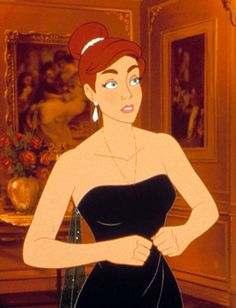 If she had any family?(acts like Dimitri/Maria) Disney Love, Disney Magic, Disney Art, Disney Animation, Animation Film, Disney And Dreamworks, Disney Pixar, Anastacia Disney, Anastasia Movie