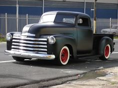 52 Chevy Matte Black Instant Hard On
