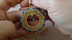 Tutorial orecchini Circle  - YouTube
