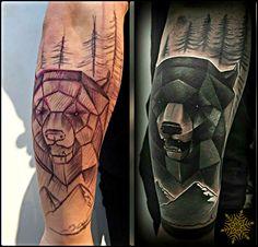 + #bear #freehand ( no stencil ) + #tattoo #tattoos #tattooartist #tattooart #tattooartwork #tatuaje #tatuajes #tattooed #tattoosofinstagram #ink #inked #permafrost #permafrosttattoo #permafrostarendal #arendal