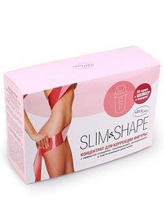 Концентрат-пропитка для похудения и борьбы с целлюлитом Slim&Shape, Gezatone, 20*20мл+шейкер