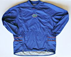 Mens Nike Gators Windbreaker Jacket XL University of Florida UF Nylon Wind Rain #Nike #Florida