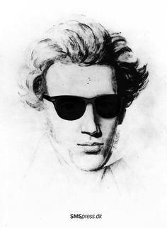 """Hvis nu Søren Kierkegaard havde levet i dag, hvad ville han så have været optaget af? Han ville selvfølgelig have været optaget af kroppen og kønnet, af tatoveringer og piercinger, af forbrug og misbrug, af mærkevarer og masseturisme, af kærlighed og karriere – altså alt det, som vi er optaget af i forsøget på at skabe os en identitet. Få 14 Kierkegaardinspirerede skæbnefortællinger på SMS de næste 14 dage. Det handler også om dig! Send """"SP ENSOM"""" til 1277. Kr. 25,- + alm. SMS-takst Soren Kierkegaard, Roman, Good Things, Sunglasses, People, Philosophy, Career, Sunnies, Shades"""