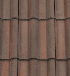 Redland 50 Double Roman Roof Tiles featuring a classic design. Low cost option. Breckland Brown colour.