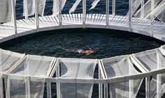 AntiRoom II is a circular wooden meditation space floating off the coast of Malta | Inhabitat - Green Design, Innovation, Architecture, Green Building