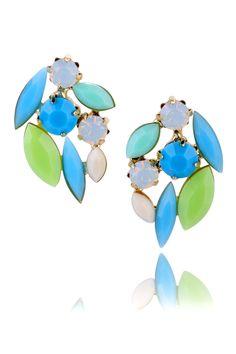 Kolczyki z kolekcji SHINING SUMMER. #ByDziubeka #jewelry #earrings #bizuteria Enamel, Earrings, Accessories, Jewelry, Google, Summer, Fashion, Ear Rings, Moda