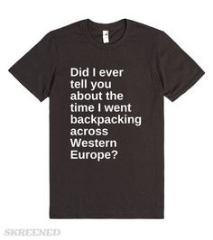 Western Europe | Did I ever tell you about the time I went backpacking through Western Europe? #Skreened