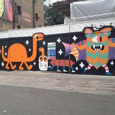 Happy walls by Bromley & Malarky.