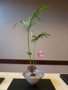 Ikebana, Origami, Plants, Origami Paper, Plant, Origami Art, Flower Arrangements, Planets