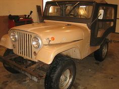 Jeep : CJ Base 1967 Jeep CJ5 A Still Using Barn Find - http://www.usabarnfinds.com/archives/6525