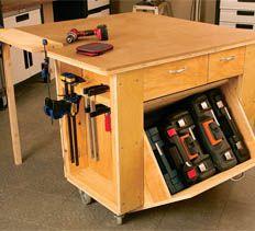 Garage Workbench Plans