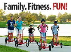 StreetStrider  Family. Fitness. FUN!