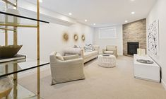This is the basement of the Cortland townhome model in Findlay Creek. Finished Basements, Semi Detached, Model Homes, Townhouse, Furniture, Home Decor, Homemade Home Decor, Terraced House, Home Furnishings