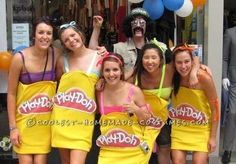 Coolest Play-Doh Group Costume