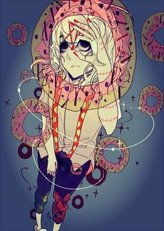 juuzou and donuts are perfection - juuzou suzuya and dunuts