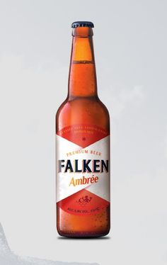 Falken Beer Packaging(Concept) by Guillermo Alcaire