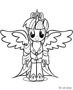 68 Best My Little Pony Coloring Pages Images My Little Pony