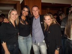 Lançamento Festuris Gramado 2012. Miguel Luiz Medeiros, Revista Quasar Turismo e convidadas.