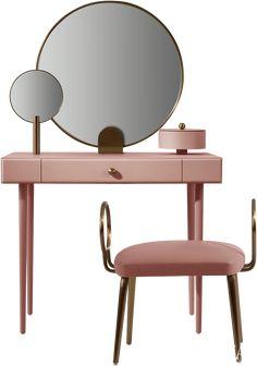 Home Room Design, Interior Design Living Room, Living Room Decor, Bedroom Decor, Furniture Dressing Table, Sofa Furniture, Furniture Design, Simple Dressing Table, Contemporary Desk