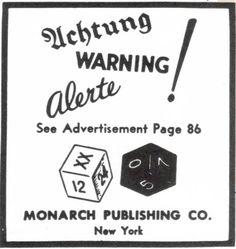 """Semanas antes del ataque a Pearl Harbor, el New Yorker publicó dos extraños anuncios con un juego llamado The Deadly Double. En el primero de ellos aparecían unos dados y advertencias de peligro en varios idiomas, en el segundo ponía que """"el juego era esencial para la supervivencia de un ataque aéreo"""".Se dice que estos dados intentaron advertir a la población del ataque que tuvo lugar un 7 de diciembre y, a pesar de que fue investigado por el FBI,sigue sin saberse quién publicó estos…"""