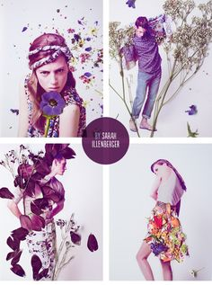 flower / fashion / floral / collage