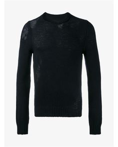MAISON MARGIELA Distressed Wool Sweater. #maisonmargiela #cloth #