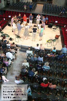 Répétition publique du Huelgas Ensemble - Festival de Saintes 2013 http://www.festivaldesaintes.org https://www.facebook.com/FestivaldeSaintes