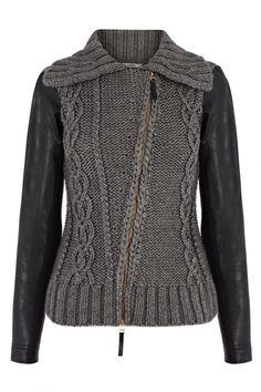 Плетени ръкави (селекция) / якета Rebuilt / Fashion стилно облекло и интериорни промени
