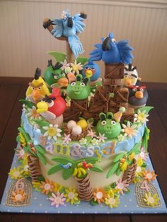 Angry Birds - Children's Cakes