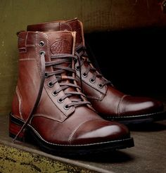 Yeah I'd wear men's boots if they look like this