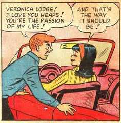 Archie Andrews and Veronica Lodge, Archie Comics Archie Comics Riverdale, Studio Logo, Dibujos Pin Up, Comics Und Cartoons, Comics Vintage, Archie And Betty, Comic Art, Comic Books, Vintage Pop Art
