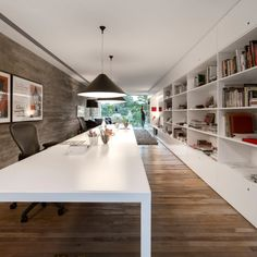 Casa Cubo by Studio Casa Cubo by Studio – HomeDSGN, a daily source for inspiration and fresh ideas on interior design and home decoration. Home Office Space, Home Office Design, House Design, Design Design, Office Spaces, Design Ideas, Creative Office Space, Design Inspiration, Office Designs