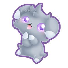 Espurr by Clinkorz on deviantART I have a print of this on my wall :3