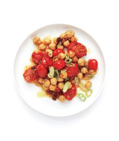 Get the recipe for Curried Tomatoes and Chickpeas.