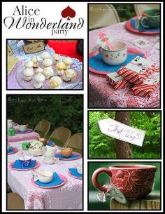 Sugar Bean Bakers: {Alice In Wonderland Unbirthday Tea Party}