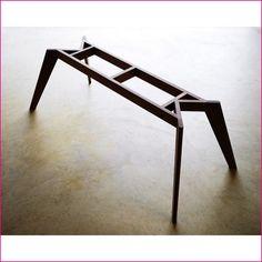 Hidden table design ideas 44 Metal Furniture, Table Furniture, Furniture Design, System Furniture, Furniture Plans, Handmade Wood Furniture, Asian Furniture, Office Furniture, Dining Table Legs