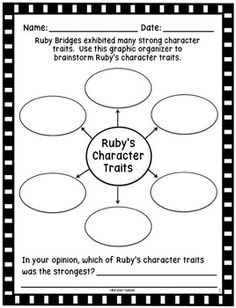 Character Traits Activities on Pinterest | Character Trait, Literacy ...