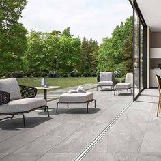 Italgraniti Up Stone Cloud Terrassenplatte 40 x 120 cm Outdoor Tiles, Outdoor Flooring, Outdoor Fun, Outdoor Decor, Pergola Design, Patio Design, Winter Window Boxes, Terrace Floor, Timber Roof