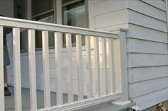 Learn how to replace or install composite porch railing. #diy