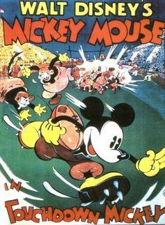 Touchdown Mickey!
