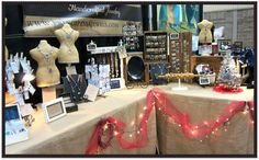 Craft Fair Booth Ideas | my booth holiday themed for show repinned from craft fair booth ideas ...